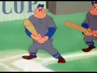 Watch and share Bugs Bunny Baseball Conga Line GIFs on Gfycat