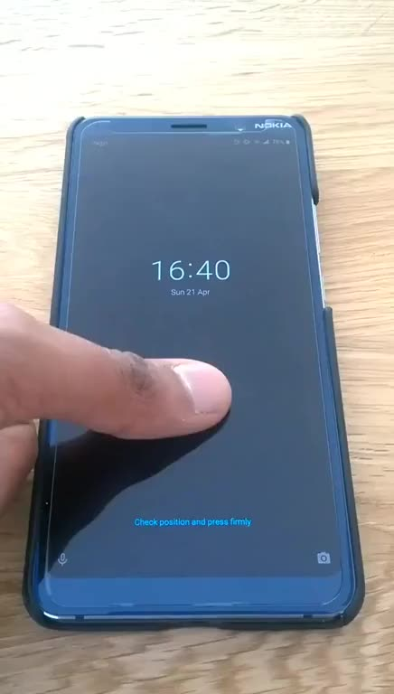 Watch and share Nokia 9s Fingerprint Sensor Accepts Chewing Gums And Unauthorised Fingerprints. GIFs on Gfycat
