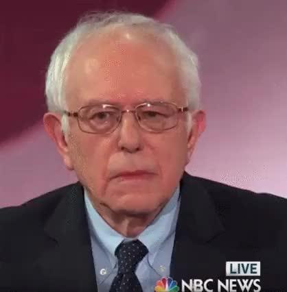 Watch and share Bernie Sanders GIFs by honsou on Gfycat
