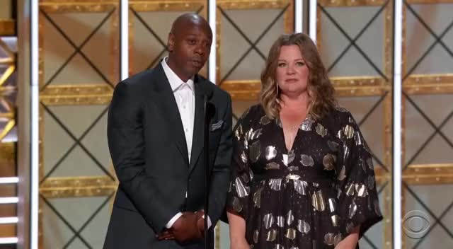 Watch this emmys GIF by GIF Reactions (@visualecho) on Gfycat. Discover more Dave Chappelle, Emmys, Emmys 2017, Emmys2017, Melissa McCarthy GIFs on Gfycat