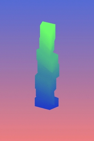 art, artists on tumblr, data, generative, gif, information art, nodebox, Generative hypermaterialistic architectural form based on th GIFs