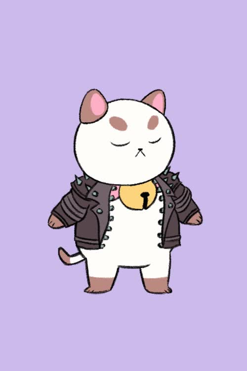 Watch and share 2 Cute 2 Poot GIFs and Biker Jacket GIFs by Cartoon Hangover on Gfycat