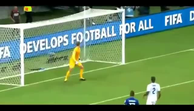 """Watch and share Joe Hart: """"Give Me The Fucking Ball!!!"""" - Funny Reaction After Pirlo´s Freekick GIFs on Gfycat"""