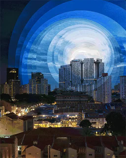 Watch and share Chinatown Sunset GIFs on Gfycat