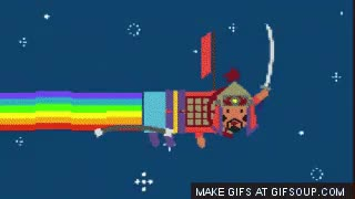 Watch and share Nyan Mongol GIFs on Gfycat