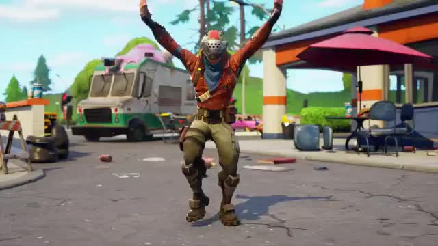 Watch and share Fortnite Show Your Excitement With The New Jubilation Emote! GIFs by MoriNZera on Gfycat