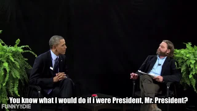 Watch this barack obama GIF by Funny Or Die (@funnyordie) on Gfycat. Discover more Barack Obama, Between Two Ferns with Zach Galifianakis, FoD, Obama, barack obama, between two ferns, between two ferns with zach galifianakis, fod, funny or die, funnyordie, obama, zach galifianakis GIFs on Gfycat