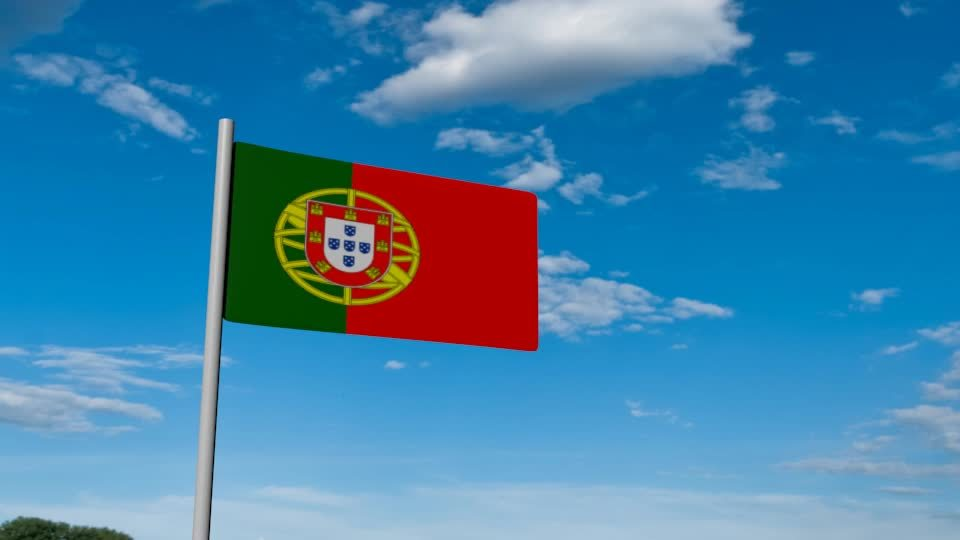 daily3d, PortugalFlag #1030 /r/Daily3D GIFs