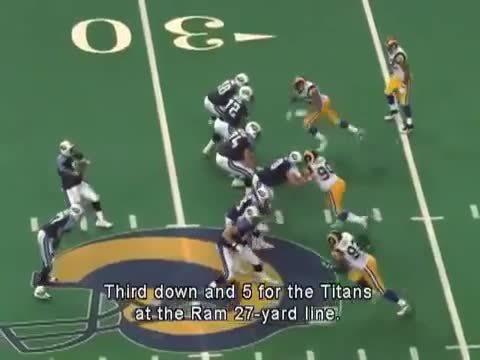 nflgifs, McNair's Great Escape. Super Bowl XXXIV January 30, 2000 (reddit) GIFs
