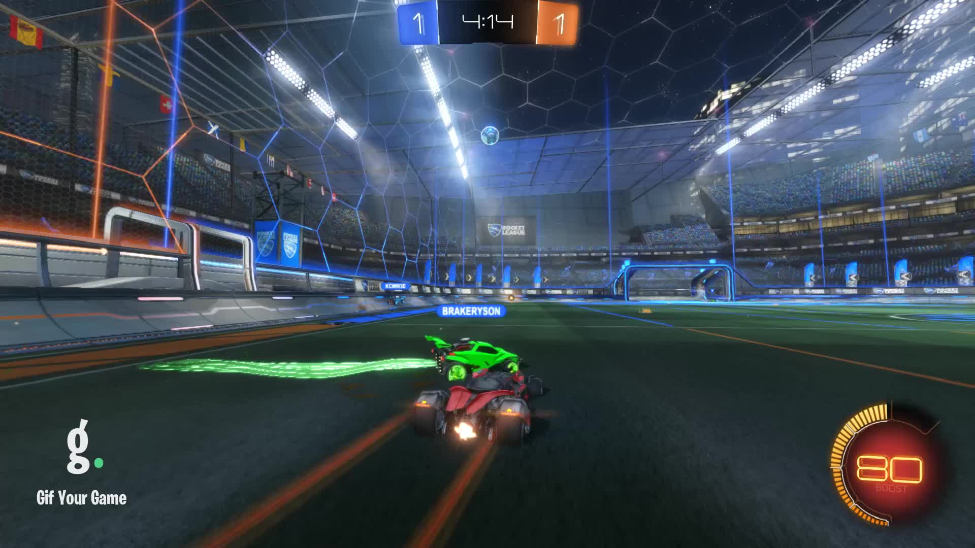 Gif Your Game, GifYourGame, Goal, Rocket League, RocketLeague, colesolo, Goal 3: colesolo GIFs