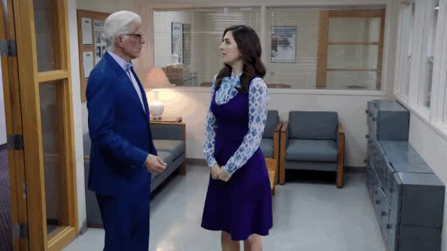 Watch and share The Good Place GIFs and Ted Danson GIFs by quidam-brujah on Gfycat