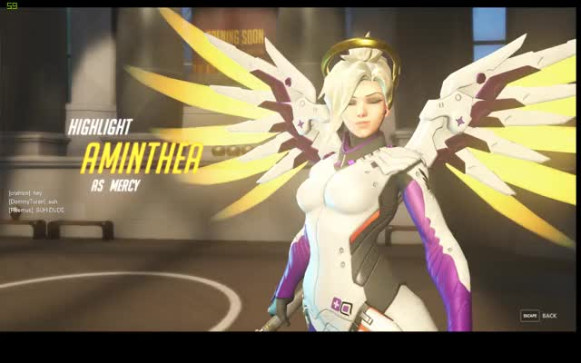 Watch and share Overwatch GIFs and Mercy GIFs by aminthea on Gfycat
