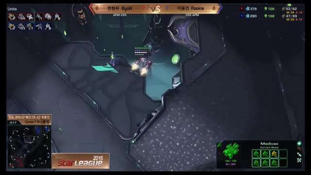 LotV BOTW 13: [TvT] Byun's RFE into multiple Tank drop play