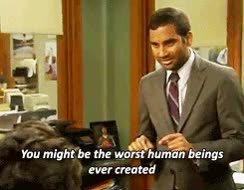 Watch this aziz ansari GIF on Gfycat. Discover more aziz ansari, parks and rec, parks and recreation GIFs on Gfycat