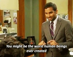 aziz ansari, parks and rec, parks and recreation, aziz GIFs