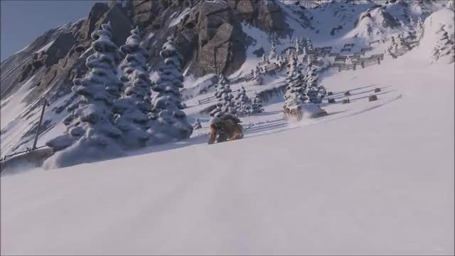 Watch and share Steep GIFs and Ski GIFs on Gfycat