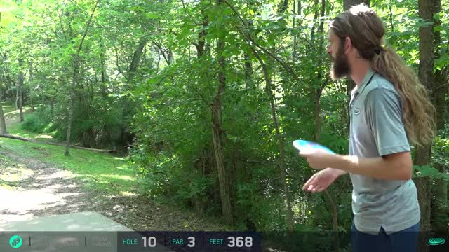 Watch and share 2017 Idlewild Open - James Conrad Tee Shot - Round 3, Hole 10 GIFs by Ultiworld Disc Golf on Gfycat