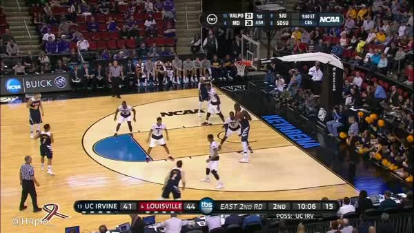 Watch and share UC Irvine's Mamadou Ndiaye (7 Ft 6) With Spin Move In Post - TNT GIFs by haplo on Gfycat