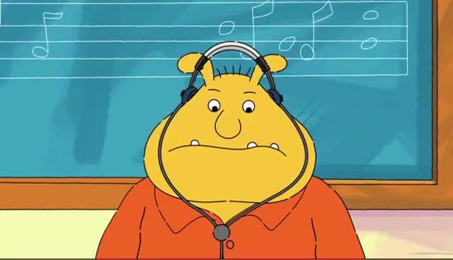 Watch and share ARTHUR: Binky's Musical Daydream GIFs on Gfycat