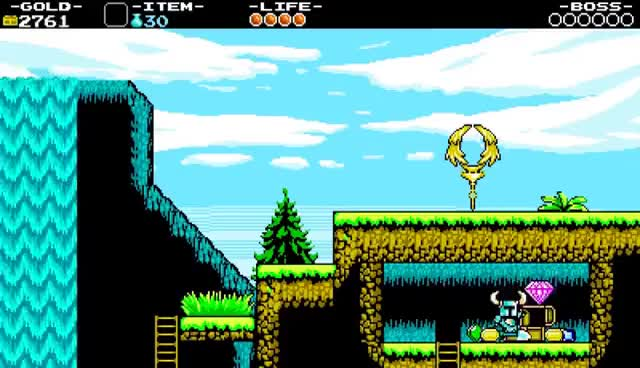 Watch and share Shovel Knight: Dragon Digging! First Boss PART 1 Gameplay Walkthrough Nintendo Wii U 3DS PC Stage 1 GIFs on Gfycat