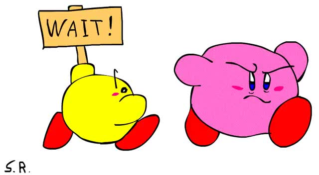 Watch and share Kirby And Keeby Walk Animation By Coconutstevio92 GIFs on Gfycat