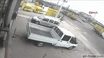 Watch and share Truck Crash GIFs on Gfycat