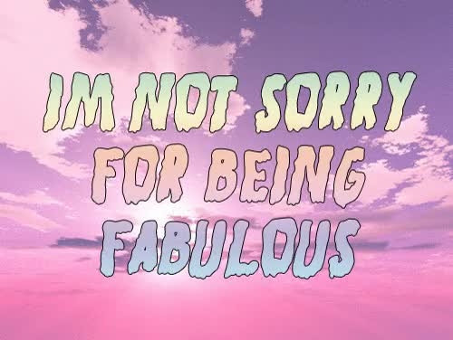 Watch and share Being Fabulous GIFs on Gfycat