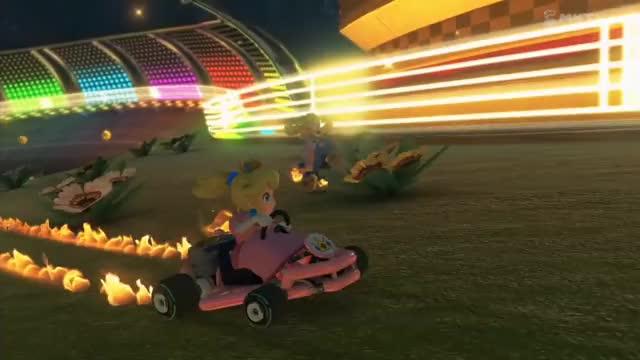 Mario Kart 8 - Millions of Peaches (reddit) GIF | Find, Make