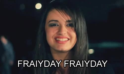 Watch and share Rebecca Black Friday Gif GIFs on Gfycat