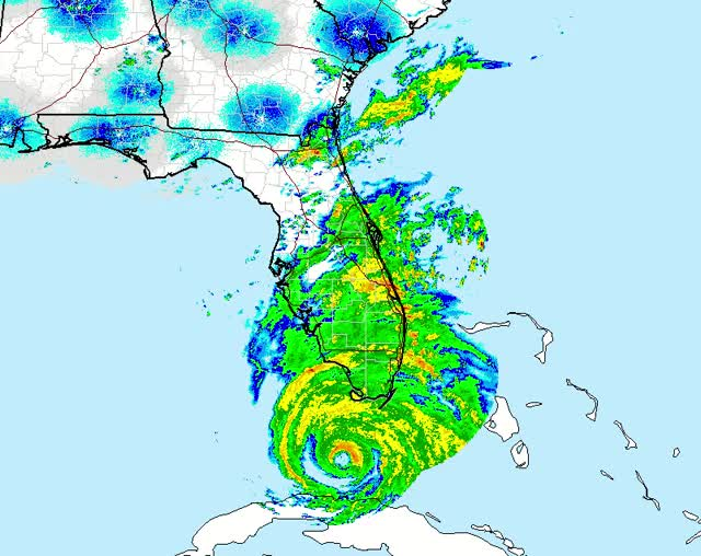 Watch and share Hurricane Irma - Radar - September 10, 2017 GIFs by The Watchers on Gfycat