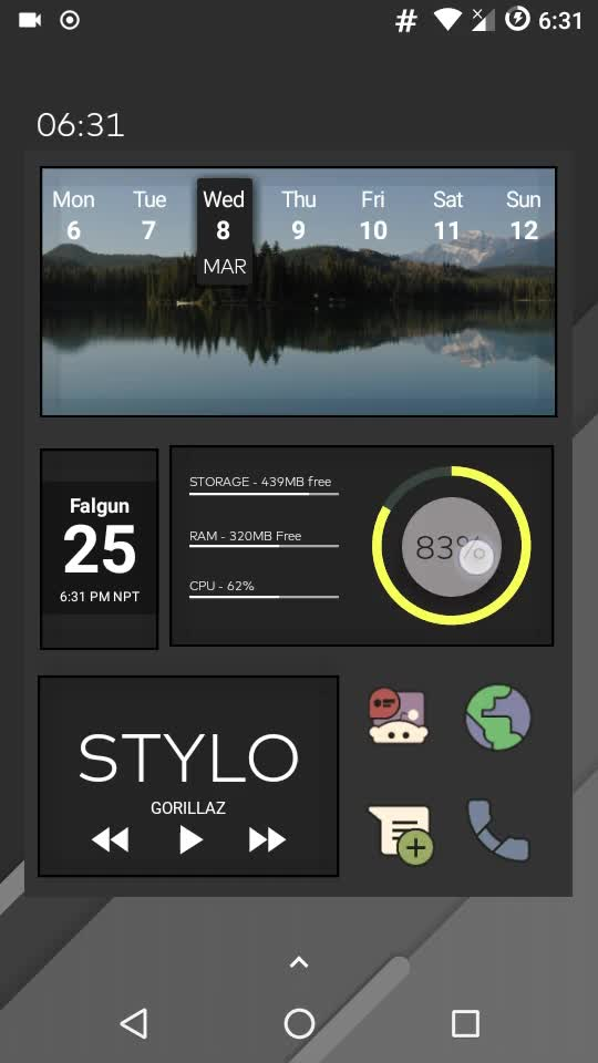 Watch Windmill UI And One Page Wonder Combined GIF by @mrkarma4ya on Gfycat. Discover more androidthemes GIFs on Gfycat