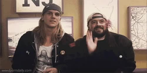 Watch and share Jay And Silent Bob GIFs and Medical Marijuana GIFs by WeedPornDaily on Gfycat