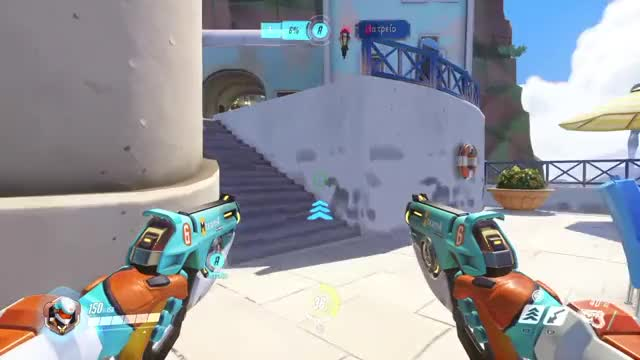 Watch and share Overwatch GIFs by commanderzee on Gfycat
