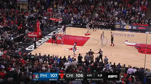 Watch and share Philadelphia 76ers GIFs and Chicago Bulls GIFs by prejuce on Gfycat
