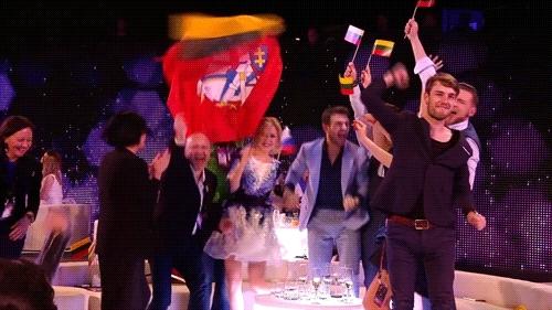 esc, esc 2015, esc gifs, eurovision, eurovision 2015, eurovision song contest, eurovision song contest 2015, grand final, kay15fujouteikoku, lithuania, monika & vaidas, monika linkyté, own gifs, postcard, request, semifinal, this time, vaidas baumila, vienna, votings, Eurovisiongifs GIFs