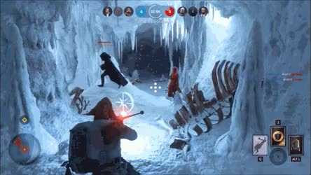 Watch and share Royal Guard Need The Force Pike • R/StarWarsBattlefront GIFs on Gfycat