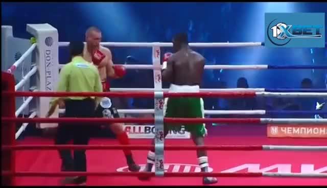 Watch Dmitriy Kudryashov vs. Olanrewaju Durodola 2, rematch, KO in HD | FightSpace GIF on Gfycat. Discover more related GIFs on Gfycat