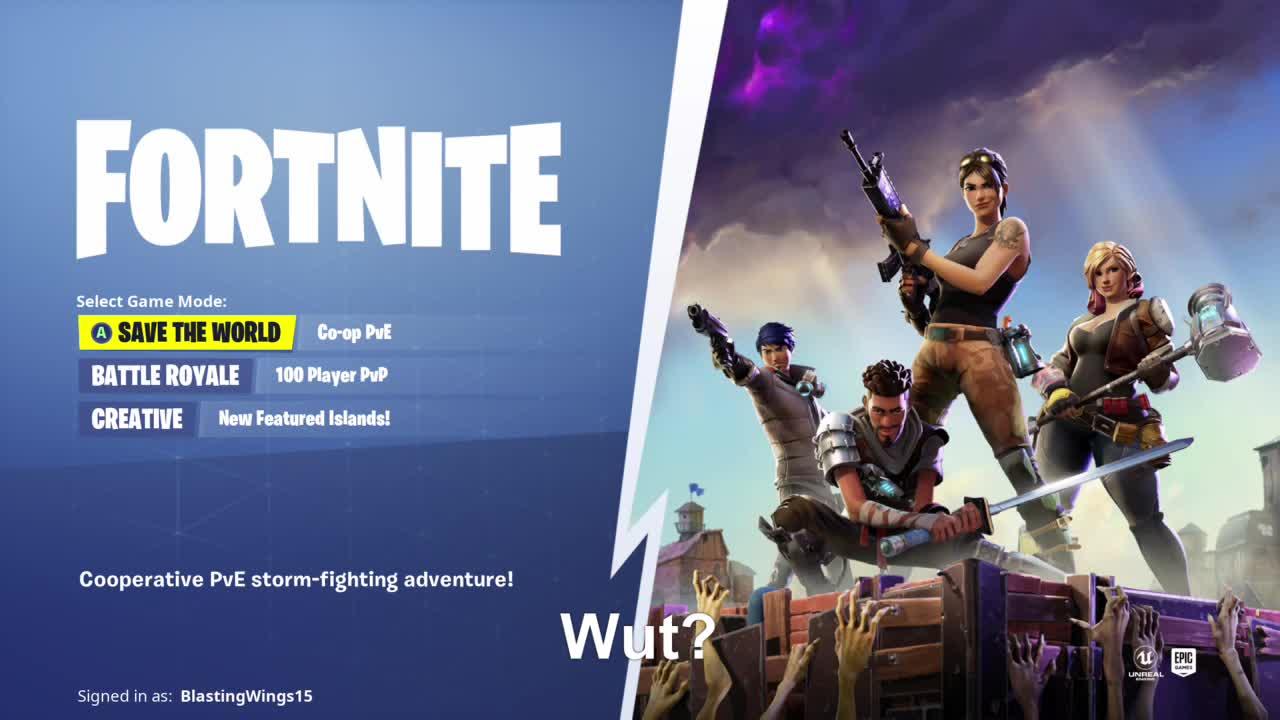 BlastingWings15, Fortnite, gamer dvr, xbox, xbox one, Text block...? GIFs