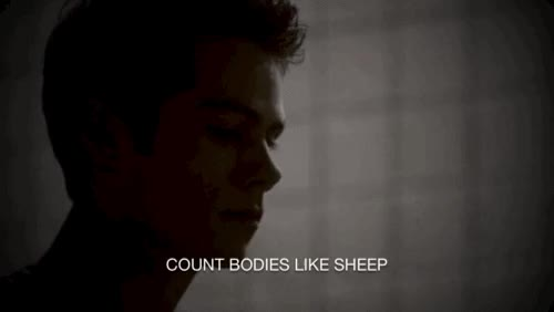 Watch They don't give a fuck about you, like I do. GIF on Gfycat. Discover more mfeobaby, season 3b, stiles, stiles nogitsune, teen wolf GIFs on Gfycat