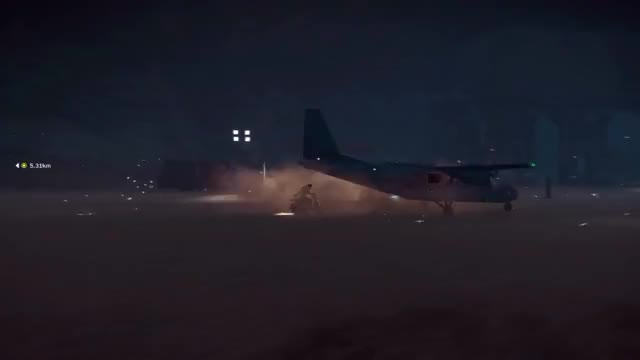 Watch Plane from a Plane - Bavarium Sea Heist Edition GIF by ThePyrotechnician (@thepyrotechnician) on Gfycat. Discover more just cause 3, just cause 3 dlc, thepyrotechnician gaming GIFs on Gfycat