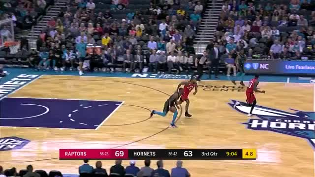 Watch and share Charlotte Hornets GIFs and Toronto Raptors GIFs on Gfycat