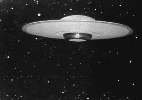 Watch and share Ufo Flying Saucer Animated Image GIFs on Gfycat
