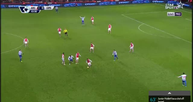 Watch Rosicky goal vs QPR (reddit) GIF on Gfycat. Discover more gunners GIFs on Gfycat