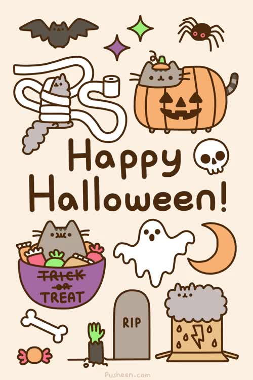 Watch this halloween GIF on Gfycat. Discover more Halloween, cat, halloween, pusheen GIFs on Gfycat