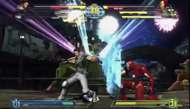 mvc3, iron man GIFs