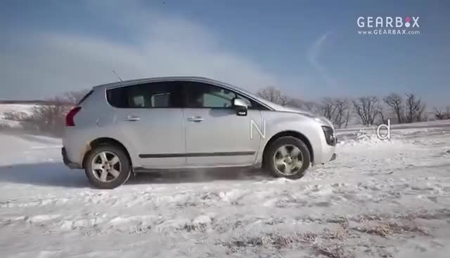 Watch and share Peugeot 3008  Grip Control Snow Mode GIFs on Gfycat