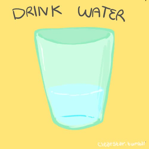 Watch and share Drink Water GIFs on Gfycat