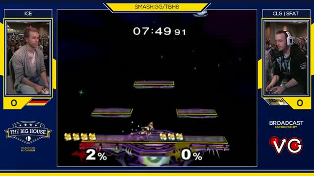 TBH6 SSBM - Ice (Fox) Vs. CLG | SFAT (Fox) - Smash Melee Winners Semis
