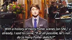 Watch and share Saturday Night Live GIFs and Daniel Radcliffe GIFs on Gfycat
