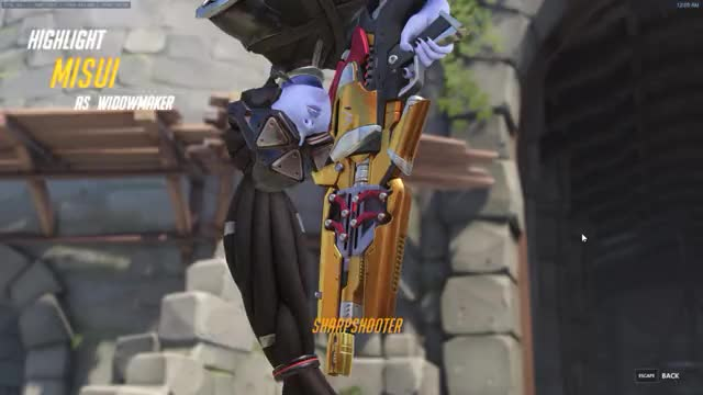 Watch PTR Widow GIF on Gfycat. Discover more overwatch GIFs on Gfycat